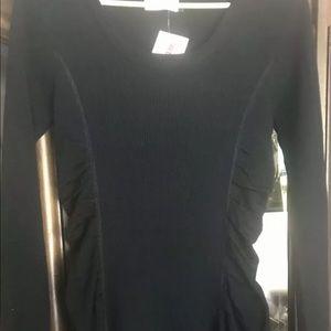 NWT Calvin Klein Women's Puff Sweater Dress size S